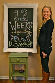 In this JOYFUL life: Watch us grow...  This is a super cute blog post as this woman goes through her pregnancy with twins!