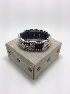 FabFit Bracelet Cover for Fitbit Charge Double Scroll Style by FabFitBracelets on Etsy https://www.etsy.com/listing/271733850/fabfit-bracelet-cover-for-fitbit-charge