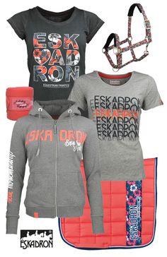 Eskadron Fanatics Grey-Grenadne   #eskadron #fanatics #summer17 #horsefashion #epplejeck #grenadne