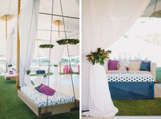 Colorful Pattern Meets Southern Charm Wedding I Photography: Sean Money + Elizabeth Fay