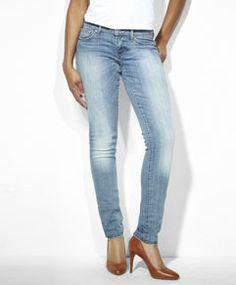 Modern Rise Bold Curve Skinny Jeans - Glory Blues - Levi's - levi.com
