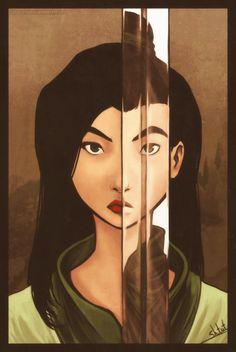 Mulan, Disney Princess, Disney Fan Art Very nice.