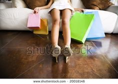 Tired Woman With Shopping Bags Stock Photos, Tired Woman With Shopping Bags Stock Photography, Tired Woman With Shopping Bags Stock Images : Shutterstock.com