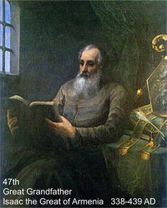 338-439 Isaac of Armenia 47th GG