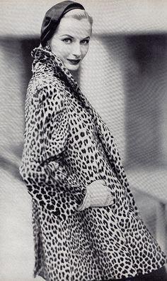 All things Vintage - Vintage leopard coat #Leopard #Love #Vintage #Coat