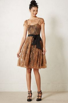 Honeyed Lace Dress - Sparkle and Shine: 10 Amazing Party Dresses to Help You Look Your Best this Holiday Season + Options for Dress Haters! - StorybookApothecary.com #holiday #christmas #thanksgiving #fashion #style #fbloggers #clothing #shopping