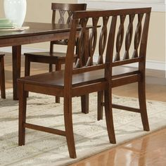 Steve Silver Company RM400BNE Richmond Dining Bench - Home Furniture Showroom