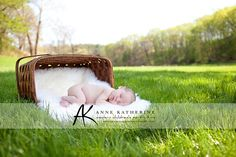 Newborn this is too perfect and i have a little picnic basket & a white fluffly blanket ;)