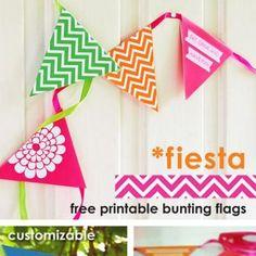 Colorful Bunting Flags | http://go.tipjunkie.com/pr/8212/gidetvidere.blogspot.no/2012/06/fiesta-vimpler.html