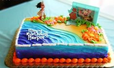 Our daughter turned just turned four and LOVES Disney's Moana. We wanted to share our Moana birthday party ideas with all Moana Party, Moana Birthday Party Theme, Moana Themed Party, Luau Birthday, 6th Birthday Parties, Birthday Ideas, Moana Birthday Cakes, Third Birthday, Cake Birthday