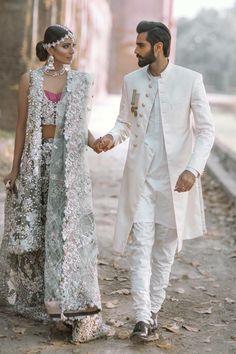 "My Pakistani wedding inspirations — lipstick-bullet: ""The Jasmine Court"" by Elan... Wedding Dresses Men Indian, Wedding Dress Men, Bridal Dresses, Wedding Bride, Pakistani Couture, Pakistani Bridal, Pakistani Dresses, Dulhan Dress, Indian Men Fashion"