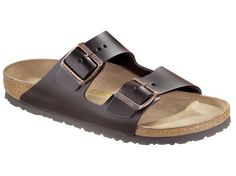 Arizona Smooth Leather Dark Brown