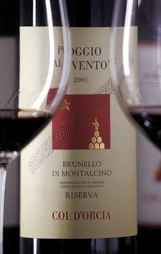 Brunello di Montalcino Riserva Poggio al Vento by Col d'Orcia  wine