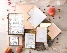 WEDDING INVITATIONS glitter 001/GN/z