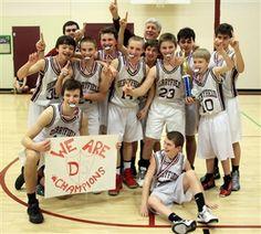 The Derryfield School ~ Boys' MS Basketball Wins Tri-County Championship