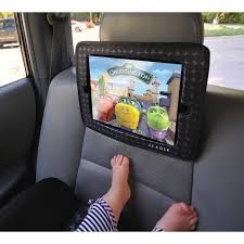 The JJ Cole Mirror attaches to your vehicle seats with adjustable straps, so it will fit most standard car headrests. Jj Cole, Tablet Holder, Ipad, 2 In, Sewing Crafts, Organization, Crafting, Magic, Film