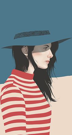 Ideas for fashion illustration poses beautiful - illustrations Fashion Illustration Poses, People Illustration, Portrait Illustration, Illustration Girl, Character Illustration, Vector Portrait, Portrait Art, Cover Wattpad, Girly Drawings