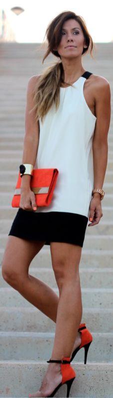 Black, White and Orange | BuyerSelect.com