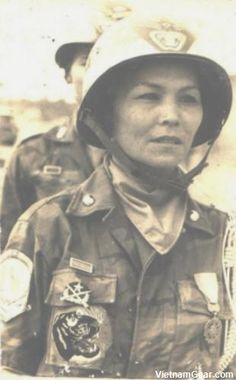 Madame Ho Thi Que, The Tiger Lady served with south vietnamese 44th Ranger Battalion Vietnam War Photos - Soldiers