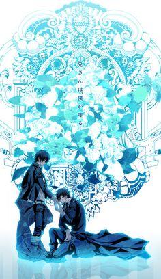 Blue Exorcist - Okumura Yukio & Okumura Rin