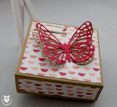 Stampin`Up! Box Schmetterling und DSP Jede Menge Liebe
