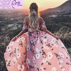 Strapless summer style long dress Women high split elastic floral maxi dress Elegant chiffon boho causal dress Super Fast Delivery: 5 to 8 days Delivery to Vestido Maxi Floral, Boho Floral Maxi Dress, White Maxi Dresses, Elegant Dresses, Summer Dresses, Bohemian Dresses, Long Dresses, Dress Long, Beautiful Dresses