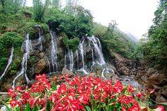Waterfall in Sapa, Vietnam