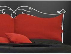 Wilde letto in ferro battuto - Letto in ferro battuto (ferro pieno) in versione matrimoniale, da 120 cm o singolo. Rete esclusa ad eccezione delle versioni con contenitore.  Colori disponibili in un'ampia gamma (Vedi immagine campione colore).