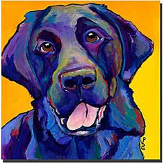 @Overstock - Show your love for mans best friend with this dog giclee art from artist Pat Saunders-White. Buddy features a friendly dog image in vibrant shades of red, yellow, blue, and more, making it perfect home decor for art aficionados and dog lovers.http://www.overstock.com/Home-Garden/Pat-Saunders-White-Buddy-Ready-to-Hang-Giclee-Art/4703201/product.html?CID=214117 AUD              63.40
