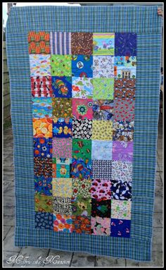 I Spy With My Little Eye....A Quilt so much fun for the little ones