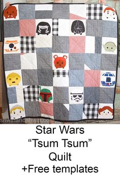 Quilting Tutorials, Quilting Projects, Sewing Projects, Sewing Tutorials, Sewing Ideas, Star Wars Baby, Star Wars Kids, Lap Quilts, Mini Quilts