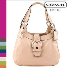 Coach Soho Shell Pink Leather Soho Hobo Handbag « Clothing Impulse