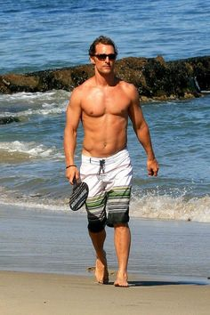 'Magic Mike' Star Matthew McConaughey Shirtless