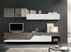 Italian Wall Unit Exential T03 by Spar - $3,675.00