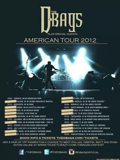 D-bags Kellan Kyle, American Tours, Tour Posters, Book Boyfriends, Any Book, Special Guest, Book Quotes, Book Worms, It Cast