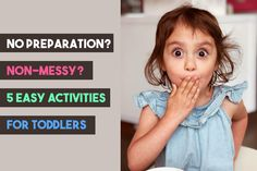 Are you in a need of some quick non-messy activities that don't need preparation? Here are 5 simple but educational activities for your toddlers. #toddlers #nonmessy #activities #nopreparation #children #kids #toddleractivities #nonmessyactivities