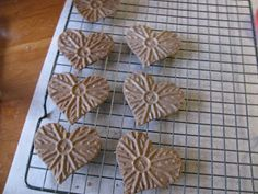 Cucinare: Strawberry Cloud with Chocolate Sweetheart Pizzelles