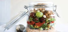 Assemble the salad in mason jars or reusable containers for easy on-the-go packing and eating. Bring a fork and eat right from the jar. 1 cup (250 mL) yogourt1 to …