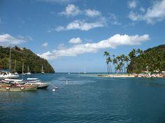 Harbour,  St Lucia, #Caribbean #stlucia
