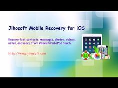 recover contacts, messages, photos, videos, etc. from iphone, ipad  ipod touch