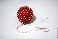 Изящное украшение для новогодней елки своими руками - Ярмарка Мастеров - ручная работа, handmade