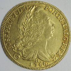 Brazil Colonial Period José I King of Portugal 1750 1777 1766 R 6400 Reis | eBay
