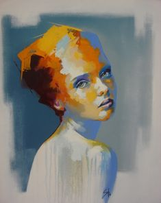 SS3. SOLLY SMOOK  Oil on Canvas  60 x 50 cm