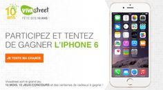 #JeuConcours: Je viens de tenter ma chance au jeu #Vivastreet #10comme...! Essaie toi aussi de remporter un iPhone 6 !