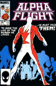 Alpha Flight #11 first appearance of Weapon Omega.