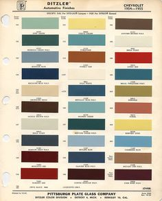 Thats right    Official color code paint thread (pics needed) - TriFive.com, 1955 Chevy 1956 chevy 1957 Chevy Forum , Talk about your 55 chevy 56 chevy 57 chevy - Belair , 210, 150 sedans , Nomads and Trucks, Research, Free Tech Advice