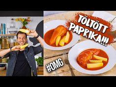 Zé-féle TÖLTÖTT PAPRIKA - ahogy azt kell! 😎 - YouTube Tacos, Mexican, Chicken, Ethnic Recipes, Kitchen, Food, Street, Youtube, Cooking