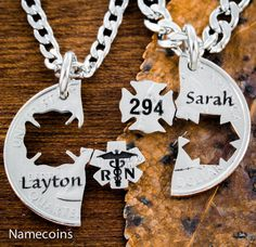 Firefighter/Nurse necklace
