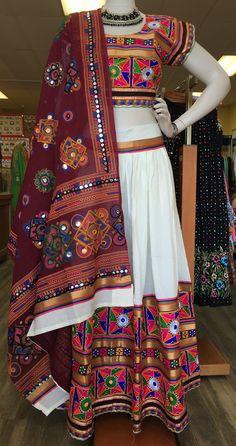 Designer traditional Garba Ghaghra Choli