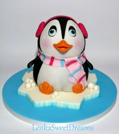 This is penguin cake recently featured in the slovak magazine...